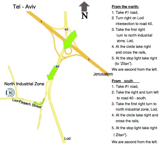 Nimda map with directions